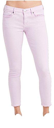 (True Religion Women's Casey Super Skinny Crop Capri Jeans in Wisteria (26, Wisteria))