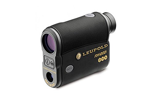Rangefinder, Leupold Optics RX-1200i TBR w/DNA Rangefinder, Black/Grey by LEUPD