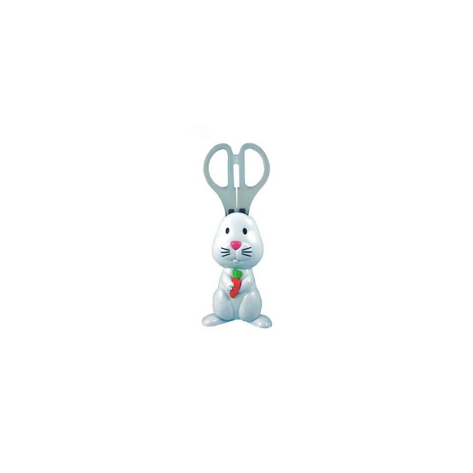 Bunny Scissors   magnetic holder keeps scissor on fridge or locker
