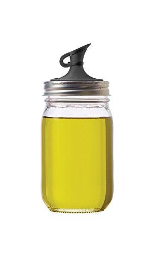 Jarware 油瓶储物瓶,存放果酱和油类都不错