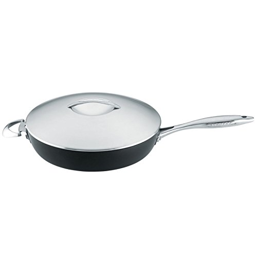 - Scanpan Professional Covered Saute Pan 12.5-Inch by 3.5 QT