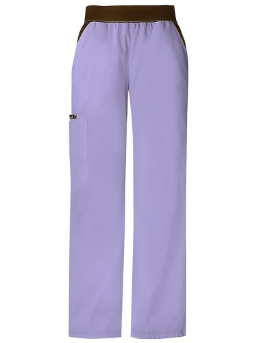 - Cherokee 1031 Women's Flexibles Cargo Pocket Scrub Pant Orchid X-Large