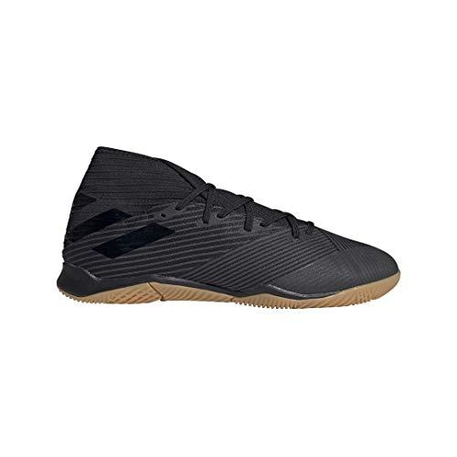adidas Men's Nemeziz 19.3 Indoor Soccer Shoe, Utility Black, 9.5 M US (Best Indoor Soccer Shoes For Men)