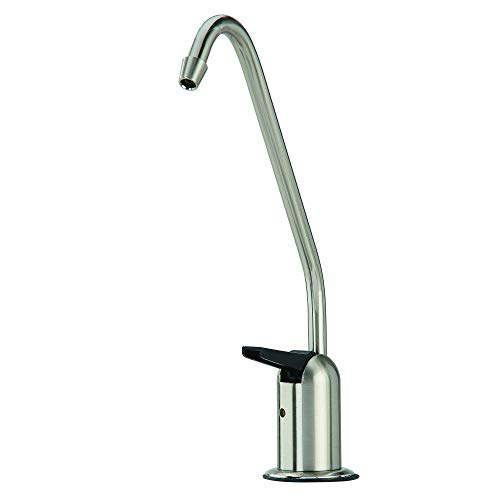 Watts Premier 116101 Air-Gap Standard Non-Monitored Faucet for Water Filtration System, Long Reach Lead Free Auxiliary, Brushed Nickel