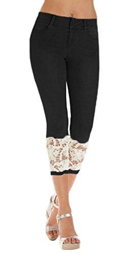 Cropped Capri Jeans - 5