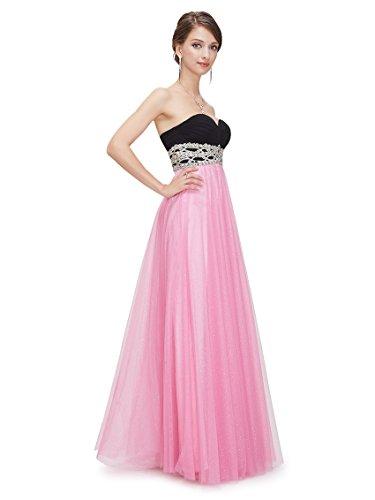 Ever-Pretty - Vestido - para mujer Rosa
