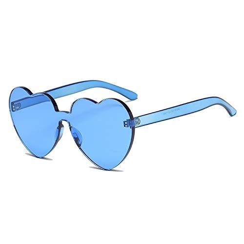 Grocery Monture Femmes De Sans Uv400 Cœur Forme Pour Shop Happy Bleu Soleil En Nouveau Lunettes Ux1CCq