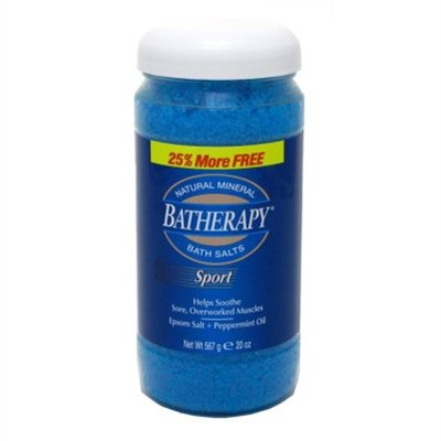 (Queen Helene Batherapy Sport 20 Ounce Salts (591ml) (2 Pack))