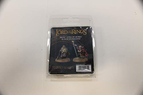 Middle Earth Strategy Battle Game: Balin King of Moria & Floi Stonehand (Lord Of Rings Games Workshop)