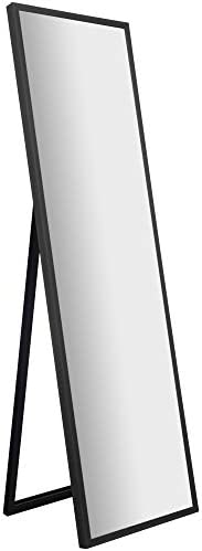 Gallery Solutions Framed Floor Free Standing Easel Full Length Mirror