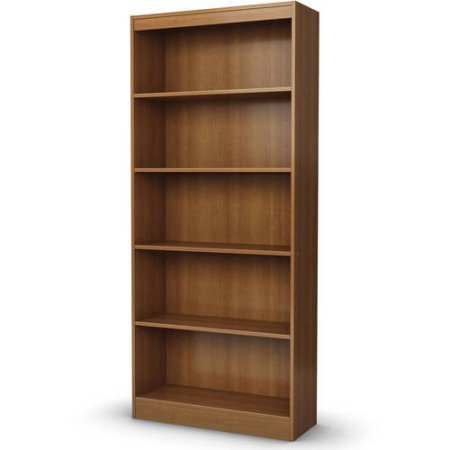 5-Shelf Bookcase, Multiple Finishes,5 Open Storage Spaces, Home Furniture, Shelving,Bookshelf,Office Furniture,Contemporary Style,Functional Shelves,Living Room Set,BONUS e-book (Morgan Cherry) by Best Care LLC