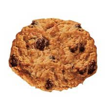 Readi Bake Benefit Oatmeal Raisin Cookie Dough, 1 Ounce -- 384 per case.