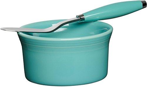 2 Piece Dip and Spreader Set Color: Turquoise 2 Piece Dip Set