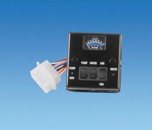 Pennine Leisure Supplies Black Water/Volt Meter - PO353: