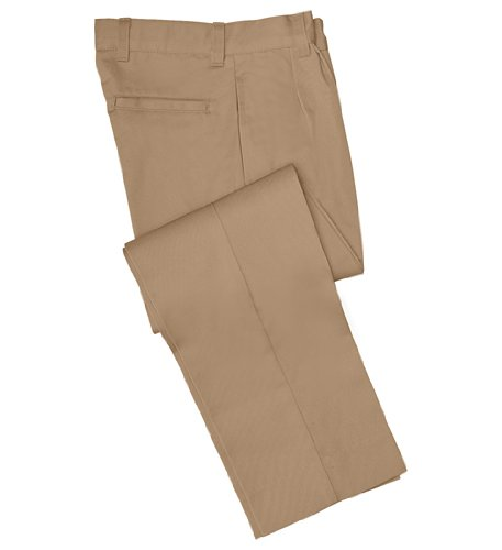 Young Men's Pleated Pant-KAK, 38 - Chino Boys Cherokee