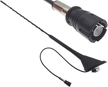 Antena de techo de 16 V, 40 cm, conector Raku 2 II, para ...