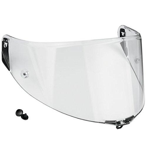 AGV Pista//Corsa Scratch Resistant Shield with Tear Off Posts Dark Smoke