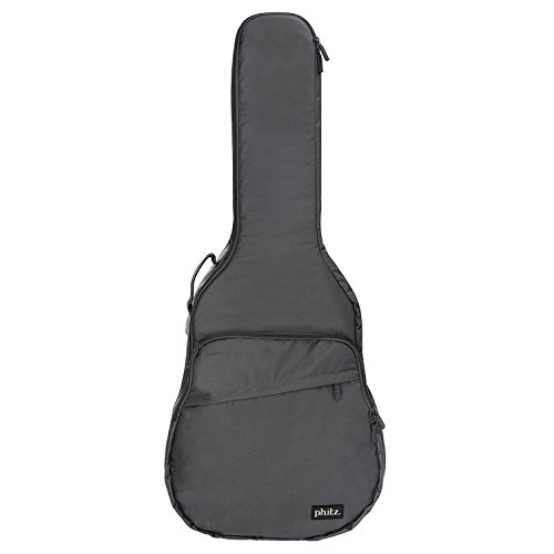 Phitz Size Acoustic Guitar Charcoal