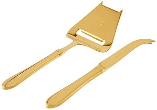 Lenox Golden Holidays 2-Piece Cheese Set