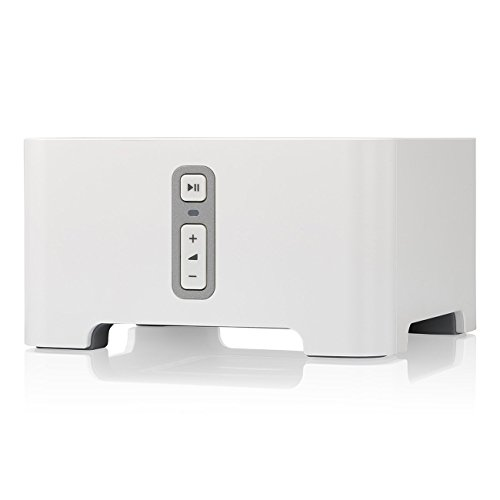 Sonos Connect – Wireless Home Audio Receiver Component for Streaming Music, Amazon certified and works with Alexa.