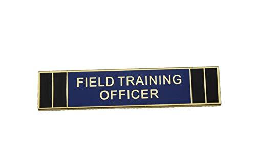 (Field Training Officer FTO Police Citation Merit Award Commendation Bar Pin-Gold)
