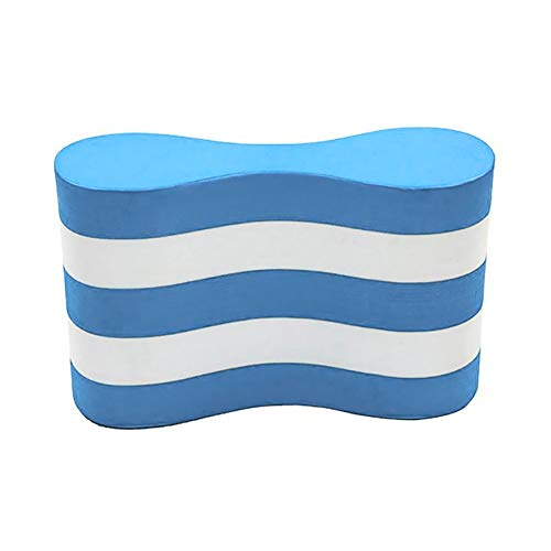 1PC Pull Buoy Blue and White Thicken Foam Pull Float Correct Swim Posture Flotation Device Swimming Training Aid