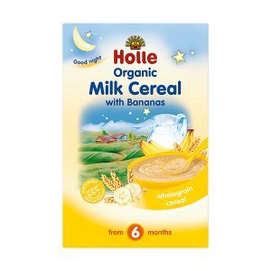 Holle Organic Baby Milk Cereal with Banana