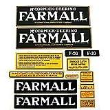 Farmall F-20: Mylar Decal Set