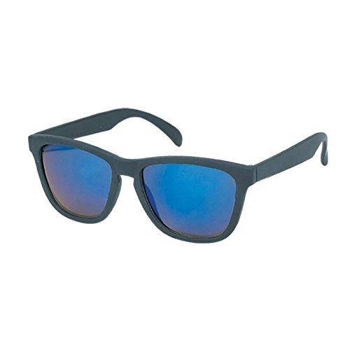 noir de chevalet Chic panto miroir style 400 wayfarer à net Bleu soleil bleu geek verres blanc uV lunettes R1fA1wq7