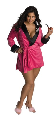Secret Wishes Women's Plus-Size Playboy Sexy Girlfriend Pink Plus Size Costume