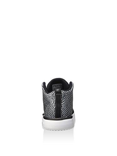 adidas Veritasid Kid, Sneakers Basses Garçon noir/blanc