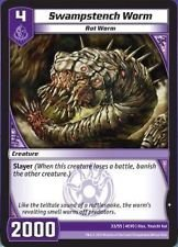 2012 Kaijudo Evo Fury Single Trading Card - Swampstench Worm (33/55 4EVO) - C...