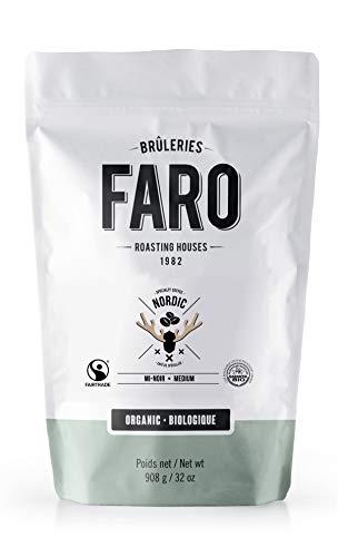 Faro Roasting Houses nordic medium roast Whole Coffee Beans, 2 lbs