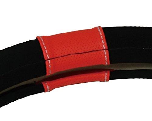 Sparco Cubierta del Volante Sport Line roja