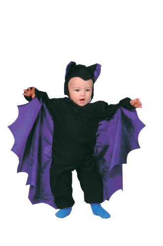 [Cute - T - Bat Purple Wings(Toddler-Standard)] (Toddler Scary Halloween Costumes)
