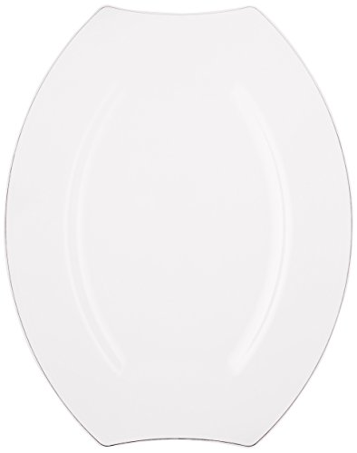 Party Essentials 20-Count Hard Plastic 9.5  sc 1 st  Plate Dish. & Plastic Oval Plates. Dart Solo 11PRWF Famous Service Impact ...