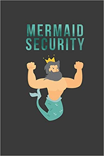 Mermaid Security: Blank Lined Journal: Amazon.co.uk: Frases, Funky:  9781798470206: Books