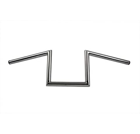 Motorcycle Crazy Z Handlebars without Indents - V-twin Motorcycle Parts