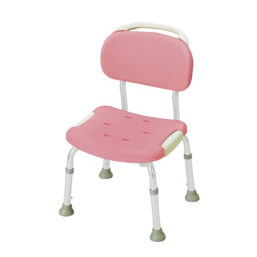 Soft Compact / 49 311 Pink Shower Chair with Back [Health and Beauty]