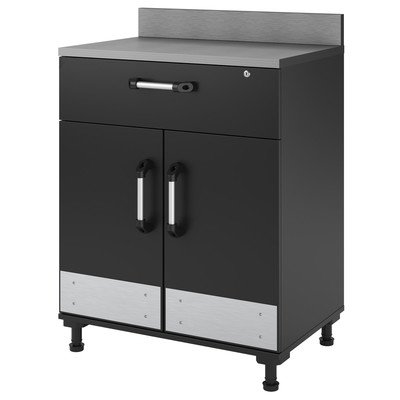 Altra Furniture SystemBuild Boss 2 Door and 1 Drawer Base Garage Cabinet