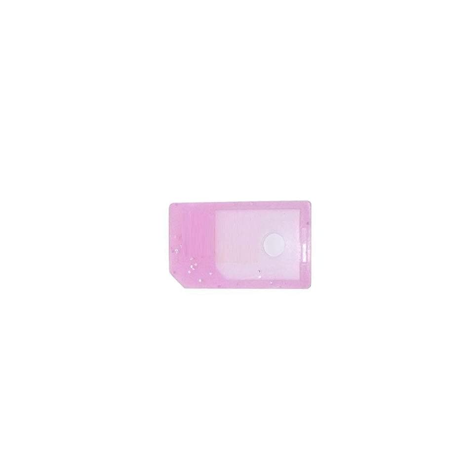 Modern Tech Pink Micro SIM Card Adapter   ideal for iPhone 4 and iPad