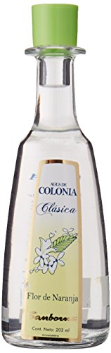 (2 X Sanborns Agua De Colonia Clasica Flor De Naranja Unisex 202ml Each Glass Bottle)