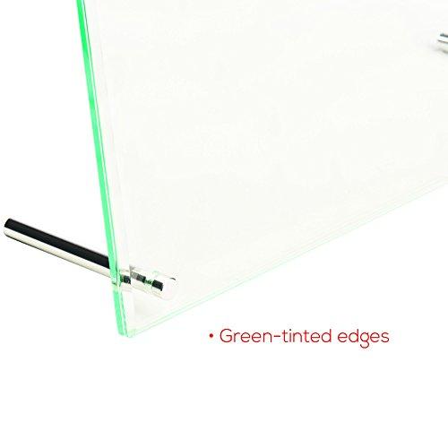 Deflecto Desktop Sign Holder, Beveled Edge, 4