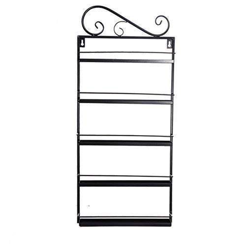5 Tier Nail Polish Rack, Multi-Purpose Wall Mounted Organizer Display Shelf for 50 Nail Polishes at Home Business Spa Salon by Garain (Image #7)