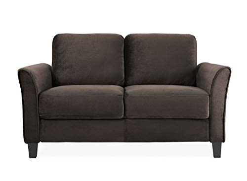 LifeStyle Solutions Watford Loveseat, Coffee