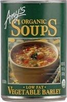 Amy's Organic Soup Low Fat Vegetable Barley - 14.1 fl oz