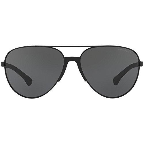 Black ea Sunglasses 2059 Emporio Grey Lenses Armani 320387 zavqATUfw