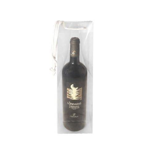 85%OFF Transparente del paquete de regalo para botella de vino ...