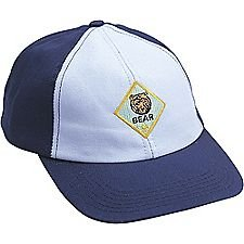 Cub Scouts Bear Cap / Hat - Official BSA Uniform Apparel (Medium / Large)