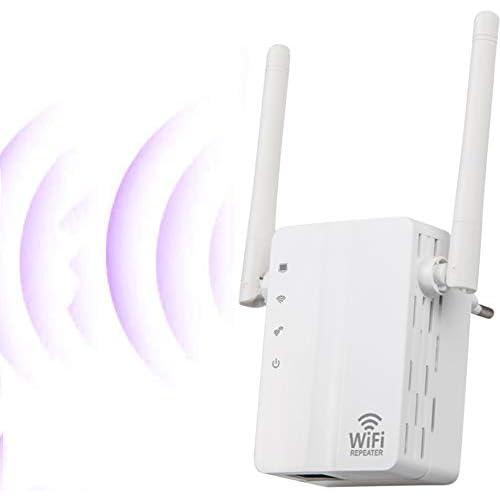 chollos oferta descuentos barato SOOTEWAY Repetidor WiFi Amplificador WiFi de 2 4 GHz 300 Mbps Amplificador de señal WiFi con Amplia Cobertura Extensor WiFi con Botón WPS Modo 3 en 1 Repetidor Enrutador Ap Puerto Ethernet